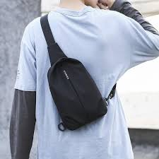 Sports Men's Chest Bag <b>Fashion</b> All-match Crossbody Chest Bag ...