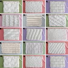 50 <b>Knit</b> Stitch <b>Patterns</b> for Beginning Knitters | Studio <b>Knit</b>