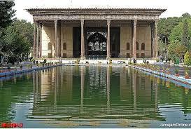 عمارت زیبای چهلستون اصفهان