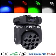 cheap price best quality hot 12x12w rgbw 4 in1 led moving head beam dmx512 stage spot light strobe wash lamp effects lighting cheap lighting effects