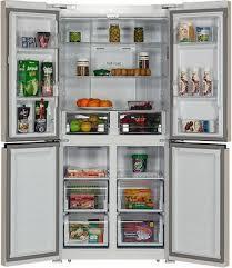 <b>Многокамерный холодильник Hiberg RFQ-490</b> DX NFYm купить в ...