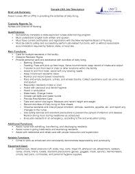 job description sample nurse resume job description job description sample nurse resume job description description ltlt banquet captain resume