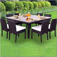 person deluxe rattan dining