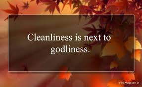 cleanliness is next to godliness dream believe inspire