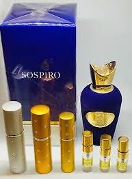<b>Sospiro SOPRANO</b> EDP Parfum 2ml 5ml 10ml Travel samples ...