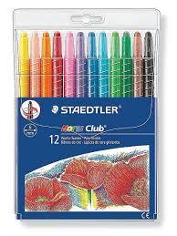 <b>Восковые мелки</b> Noris, 6 мм, 12 цветов STAEDTLER 7093483 в ...