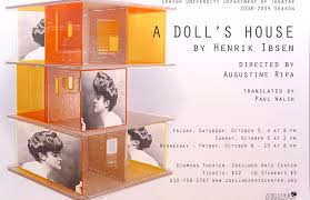 a doll s house poster by linda ganus a doll s house poster