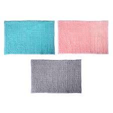 <b>Коврик для ванной</b>, синель, 1,2 см, <b>40х60</b> см, 3 цвета, VETTA в ...