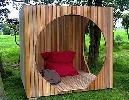 garden shed wooden modern style chad garden pod