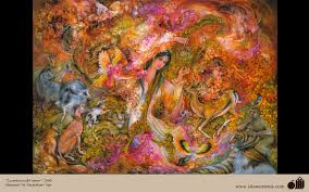 music of love persian painting farshchian gallery of islamic music of love persian painting farshchian