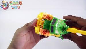 Surprise Eggs | <b>Transformers Robot</b> Truck Toy for Kids | Surprise ...
