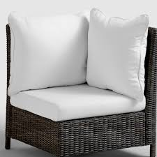 distressed grey weather patio chaise