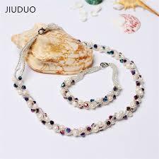 2019 <b>JIUDUO</b> Fashion Handmade Freshwater Pearl Necklace With ...