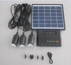 China Luz Solar Lamp Solar Light 10W <b>5W 4W</b> Solar Home Lighting ...