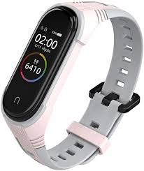 KOMI Silicone Replacement Strap, Two-Color Sport ... - Amazon.com