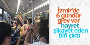 İzmir'de grev 6. gününde