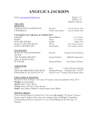 theatre acting resume in word musical sample functional actors resume template word