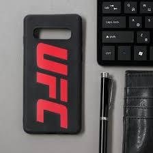 <b>Чехол клип-кейс Red</b> Line UFC для Samsung Galaxy S10, черный ...