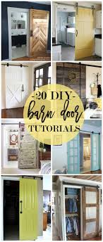 Closet Barn Doors Best 25 Barn Door Closet Ideas On Pinterest Sliding Barn Doors