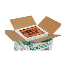 packing list envelopes security window in x in pk packing list envelopes security window 4 in x 5 in 500 pk duckreg brand