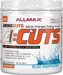 ALLMAX Nutrition <b>A:CUTS</b>, <b>Amino Charged Energy Drink</b>, Blue ...