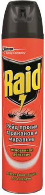"""85 отзывов на Аэрозоль против <b>тараканов</b> и муравьев """"<b>Raid</b> ..."""