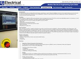 electrical business company profile writing service company electrical services company profile