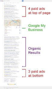 google search results changes  new layout for local serp