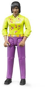 <b>Фигурка Bruder Женщина в</b> розовых джинсах 60-403 — купить по ...