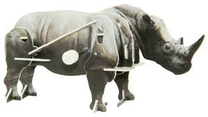 <b>3D</b>-<b>пазл Pilotage</b> 3D Носорог заводной (RC39677) — купить по ...
