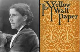 mental illness in literature charlotte perkins gilmans quotthe  left charlotte perkins gilman right quotthe yellow wallpaperquot cover