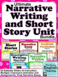 short stories  high school students and high schools on pinterestnarrative writing and short story unit