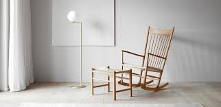 Fredericia – J16 <b>rocking chair</b> – design Hans J. Wegner