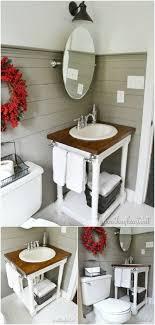 bathroom vanity diy butcher block vanity  bathroom vanity transformation butcher block van