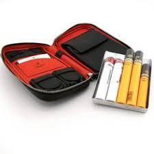 <b>COHIBA</b> Red Black <b>Metal Cigar</b> Hydrating Tube Jar Holder 5 <b>Cigars</b> ...