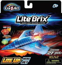 <b>Конструктор</b> Lite <b>Brix Самолет</b> маленький. Арт. 35844 - Интернет ...