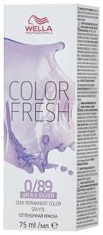 Средство <b>Wella Professionals краска</b> Color Fresh Silver ...