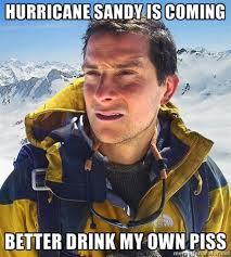 Man vs Hurricane Sandy | 2012 Hurricane Sandy | Know Your Meme via Relatably.com