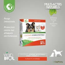 vetobiol tablets hygiene intestinal puppy dog natural dewormer