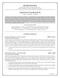 sample resume for teaching assistant graduate cipanewsletter cover letter experienced teacher resume best experienced teacher