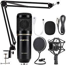ZINGYOU <b>BM</b>-<b>800</b> Condenser Microphone Bundle, <b>Professional</b> ...