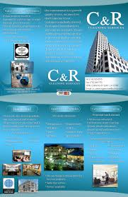 c r cleaning services services brochure