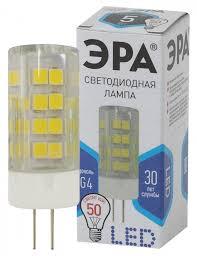 """<b>Лампа LED</b> """"капсула"""" G4 5Вт (400Лм) 4000К 230В <b>ЭРА</b> - купить ..."""