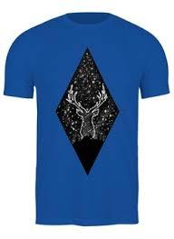 """Мужские футболки c красивыми принтами """"deer"""" - <b>Printio</b>"""
