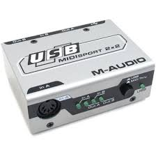 Купить <b>MIDI</b> Интерфейсы <b>M</b>-<b>Audio MidiSport</b> 2x2 USB за 5370 Р с ...