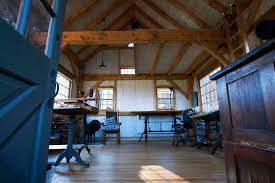 image credit uncarved block inc build rustic office