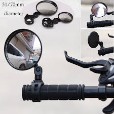 <b>1PC</b> Round <b>Bicycle</b> Rearview <b>Handlebar Mirrors</b> Mountain <b>Bike</b> ...