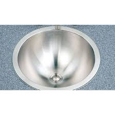 drop bathroom sink stainless steel