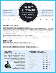 resume template fun templates examples great throughout  79 excellent creative resume templates word template