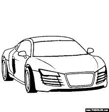 Small Picture Cars Online Coloring Pages Page 1